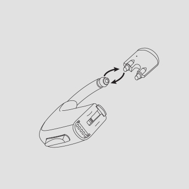 Replace the damper/filter in behind-the-ear hearing aids